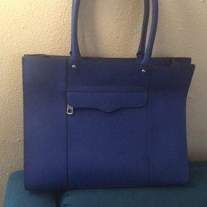 Rebecca Minkoff blue MAB, medium size.